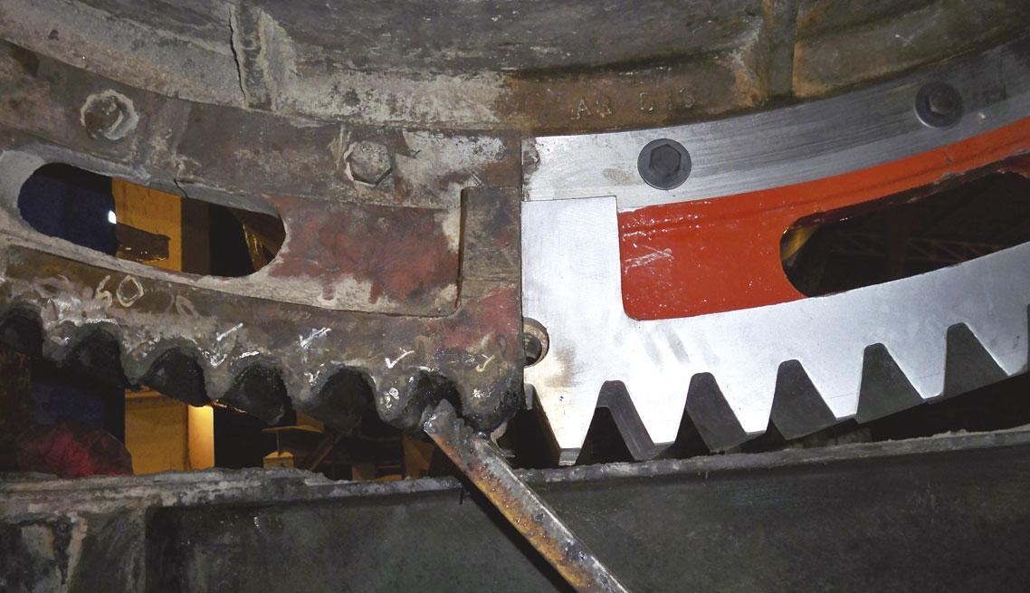 Reparación-de-engranaje